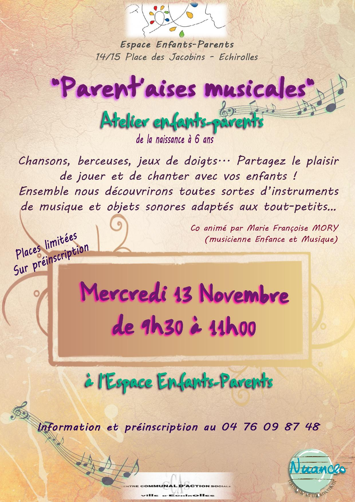Parent'aises musicales