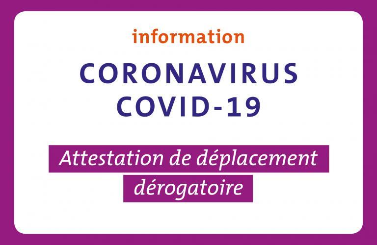 Coronavirus L Attestation Papier Et Numerique Ainsi Que Les Regles De Deplacement Mise A Jour Du 6 Avril Echirolles