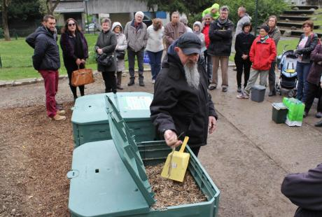 Site de compostage collectif du parc des Jacobins - Les Granges