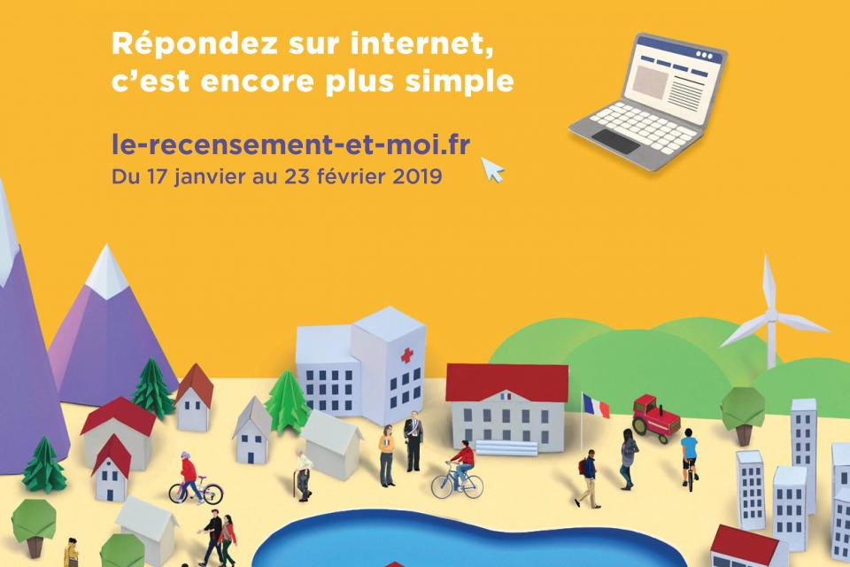 recensement   du 17 janvier au 23 f u00e9vrier 2019