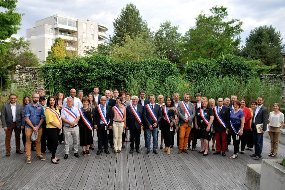 Photo de groupe du conseil municipal
